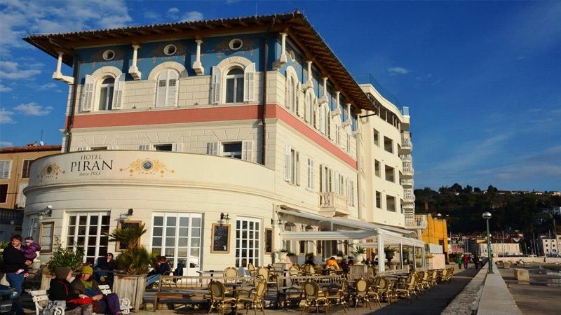 Пиран. Яхт-тур по Италии и Словении