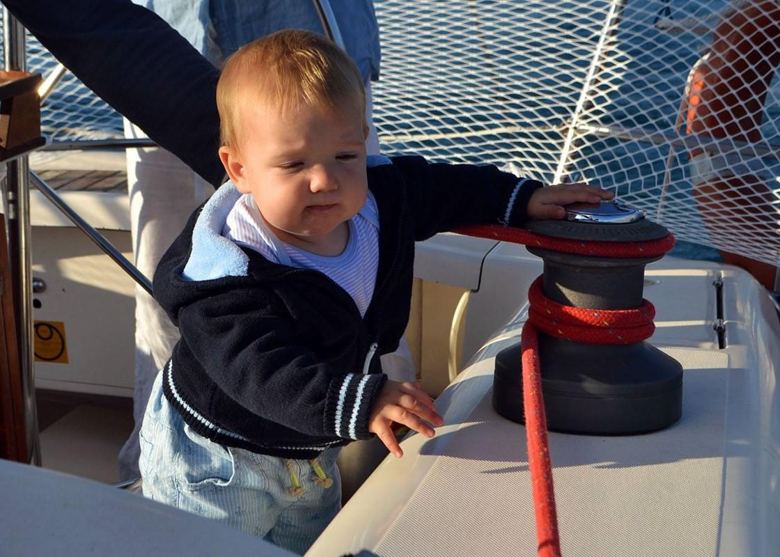 Путешествие на яхте с ребёнком в Турции