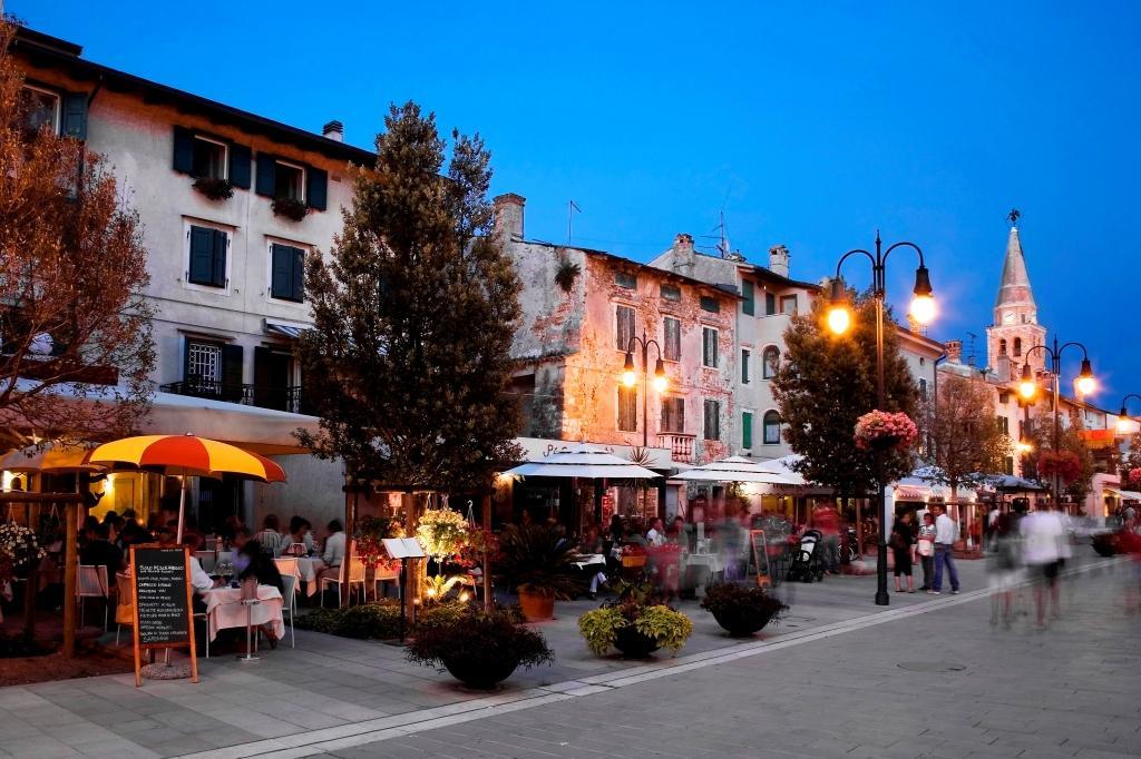 Путешествие на яхте в Градо, Италия