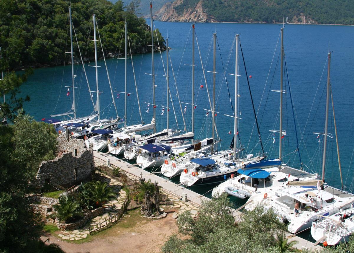 Яхт-тур в Турцию. Экинчик