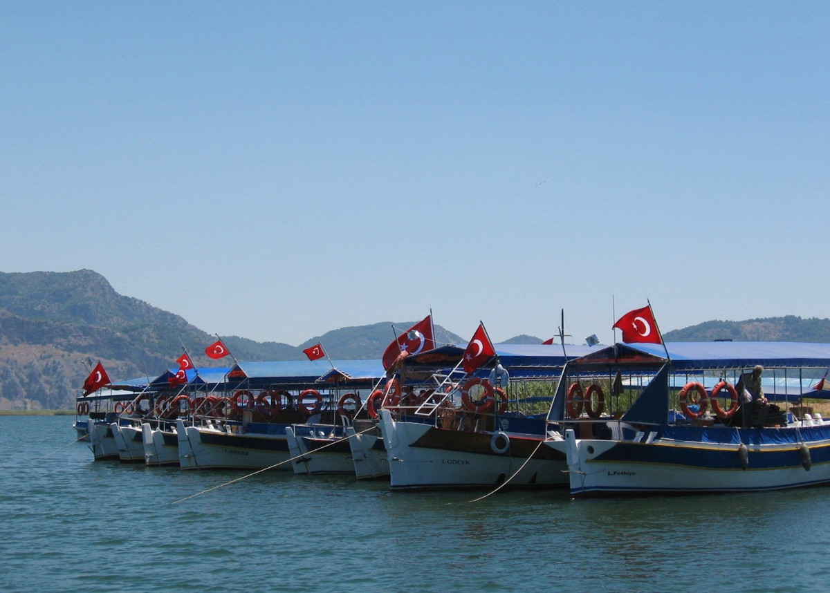 Яхт-тур в Турцию. Дальян