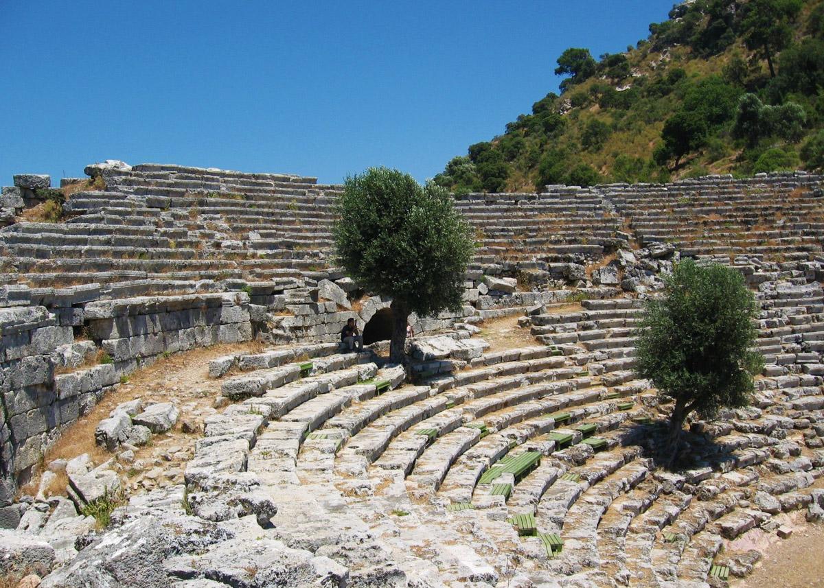 Турция, амфитеатр в Дальяне