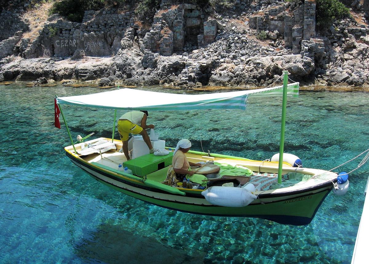 Остров Демилер, Турция