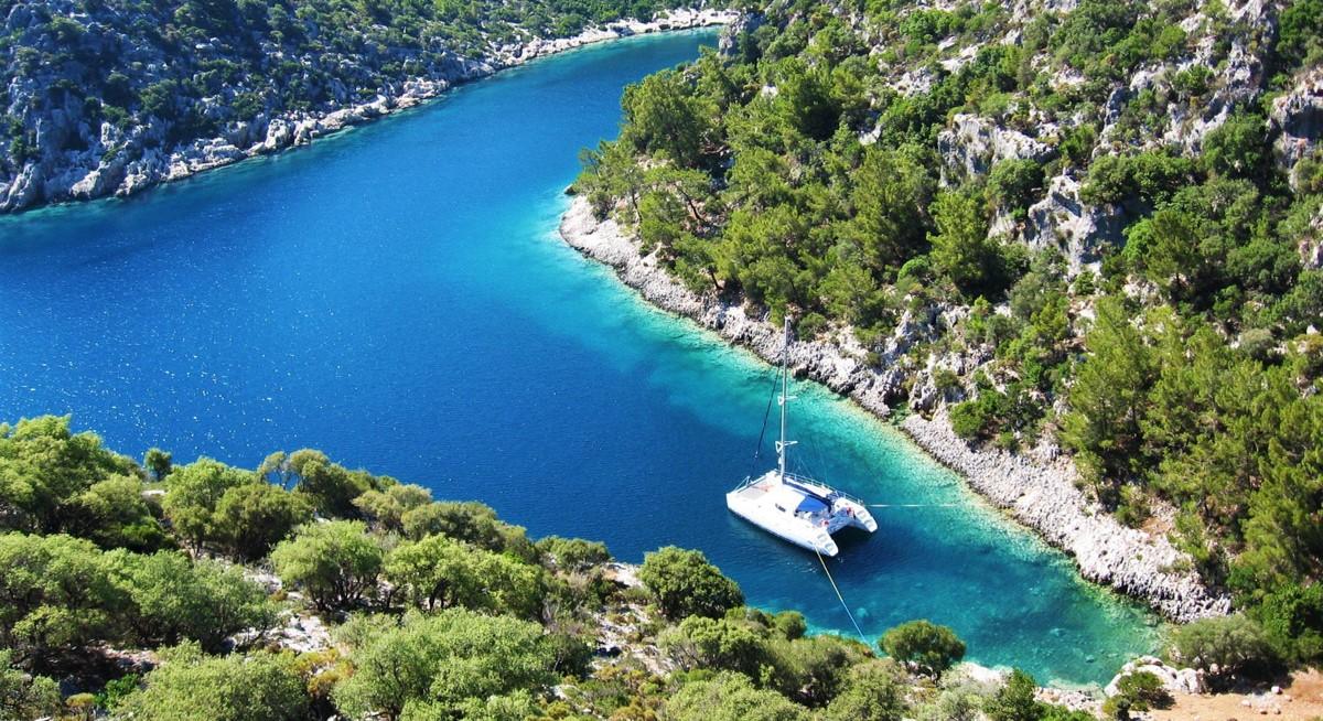Семейный яхт-тур в Турции