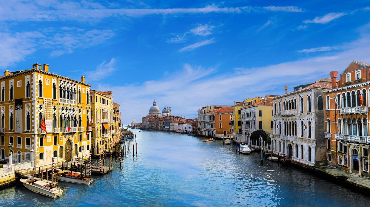 Путешествие на яхте в Венецию