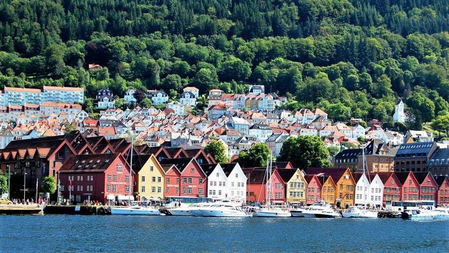 Яхт-тур в Норвегию Берген
