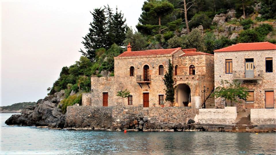 Яхтенный маршрут по Греции. Кипарисси