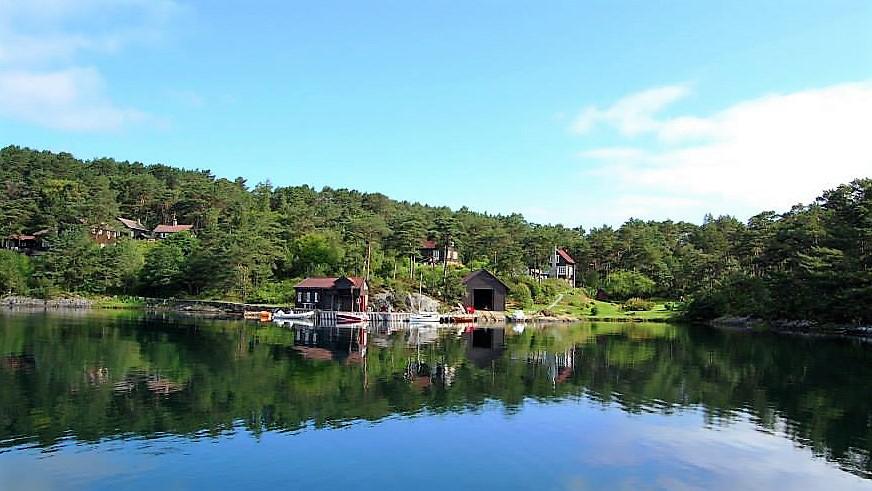 Место для якорной стоянки. Норвегия