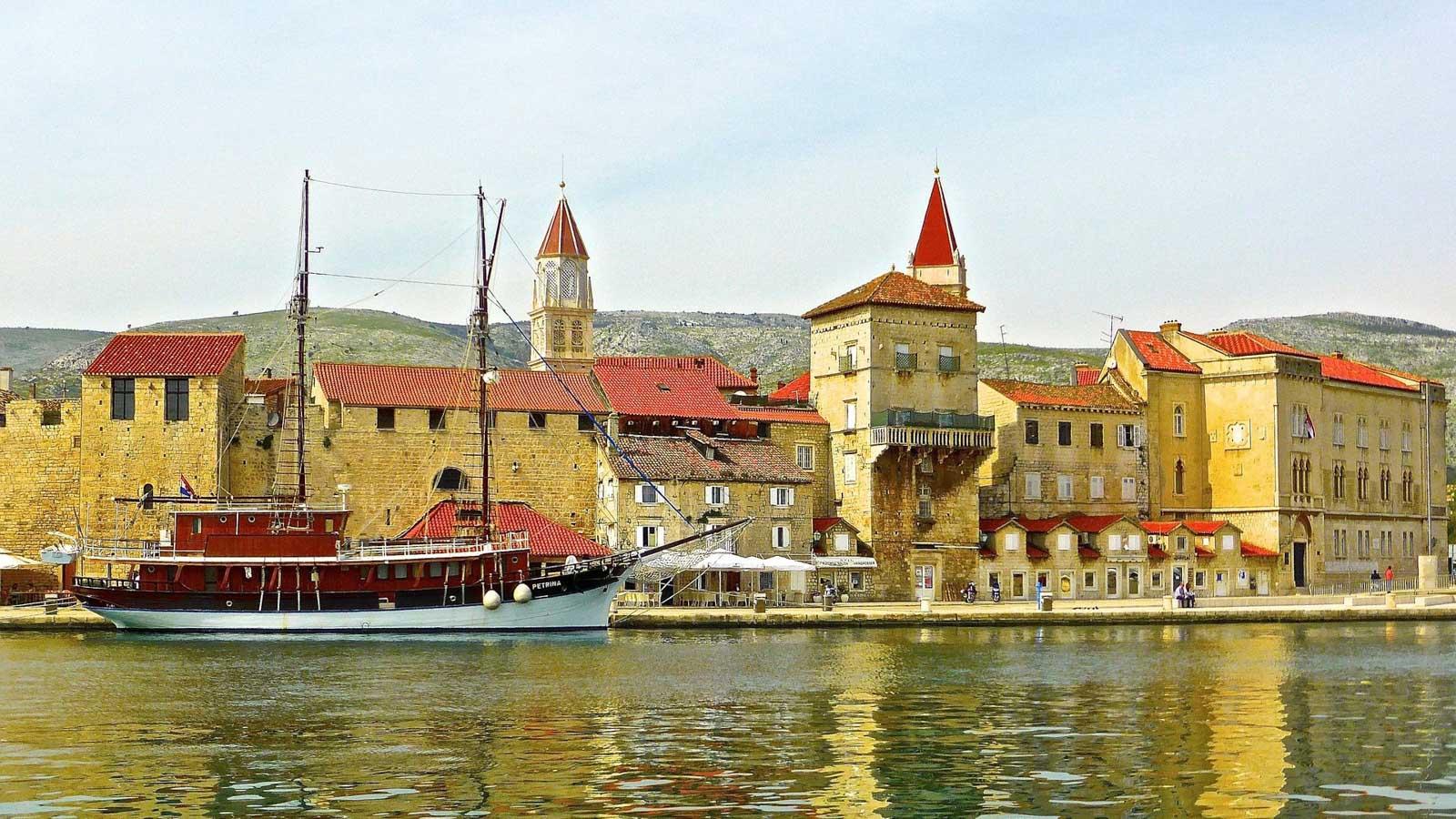Яхтенный маршрут по Хорватии. Трогир