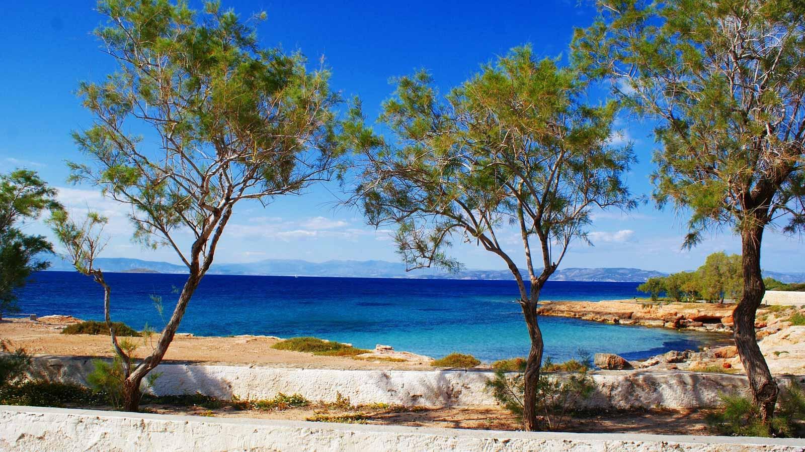 На острове Эгина