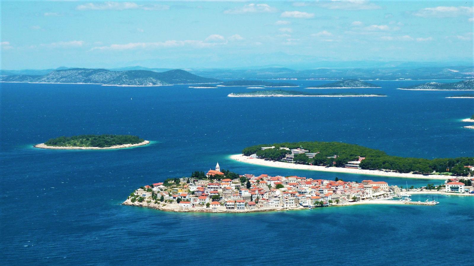 Яхтенный маршрут по центральной Хорватии. Примоштен