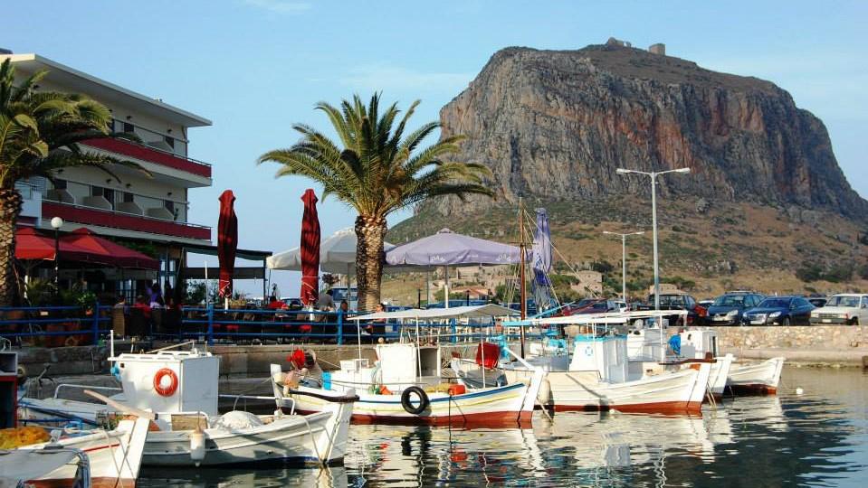 Яхтенный маршрут по Греции. Монемвасия