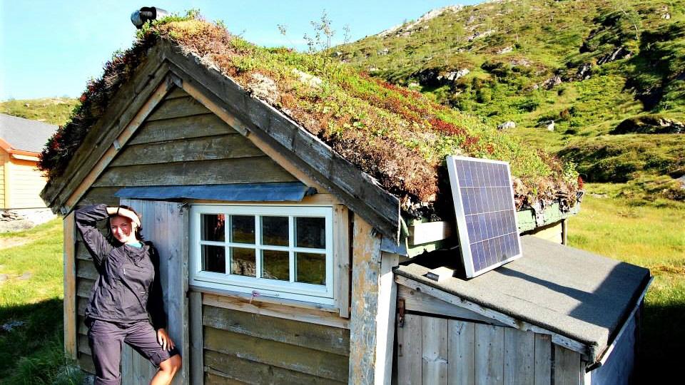 Чудесный домик в Fjellestoi. Норвегия
