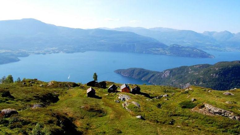 Fjellstoi. Норвегия