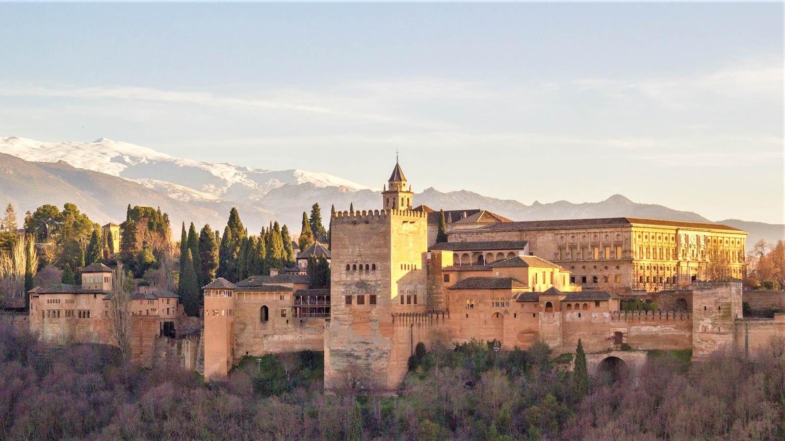 Яхт-тур в Испанию. Альгамбра