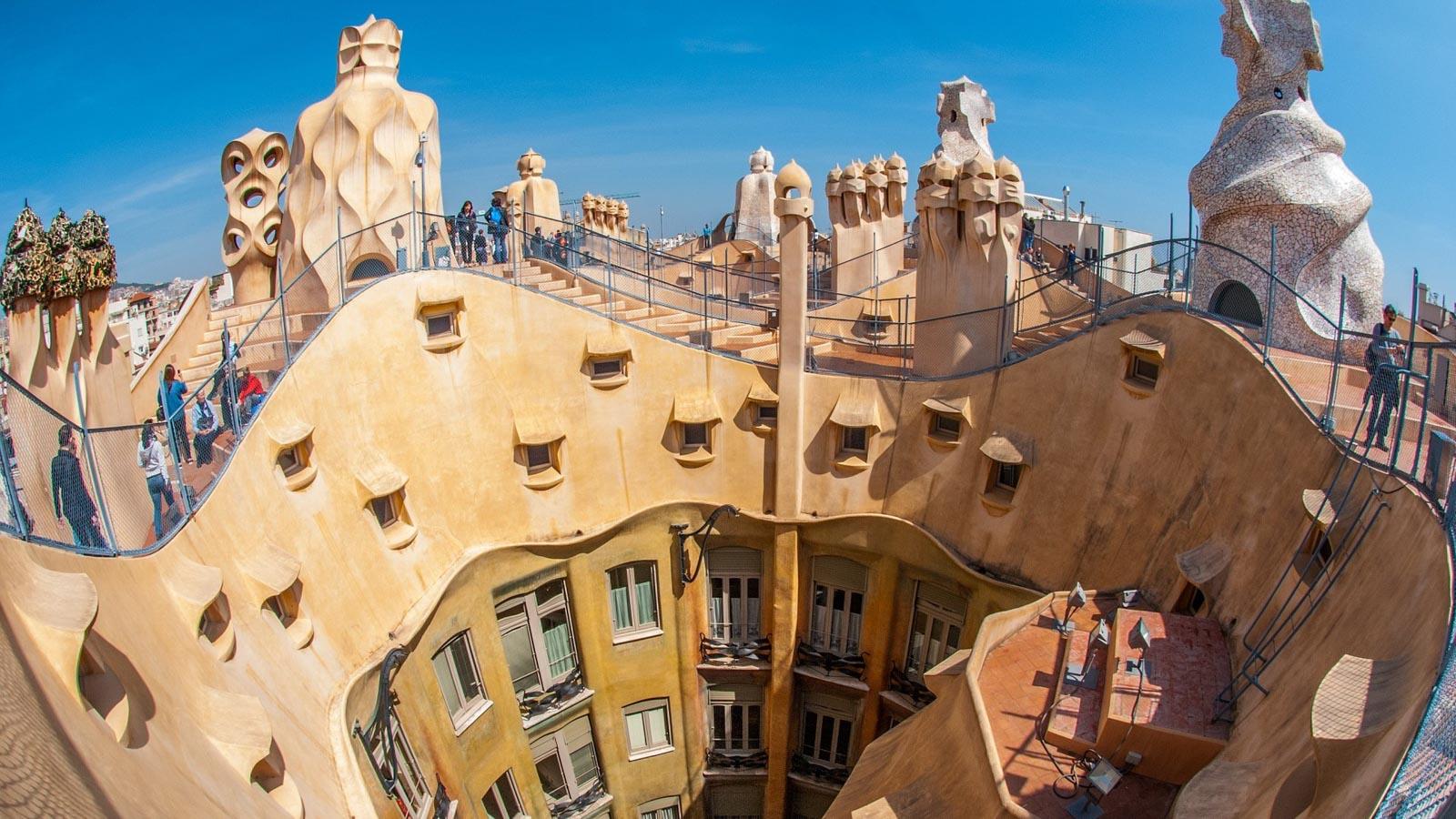 Яхт-тур в Испанию. Барселона