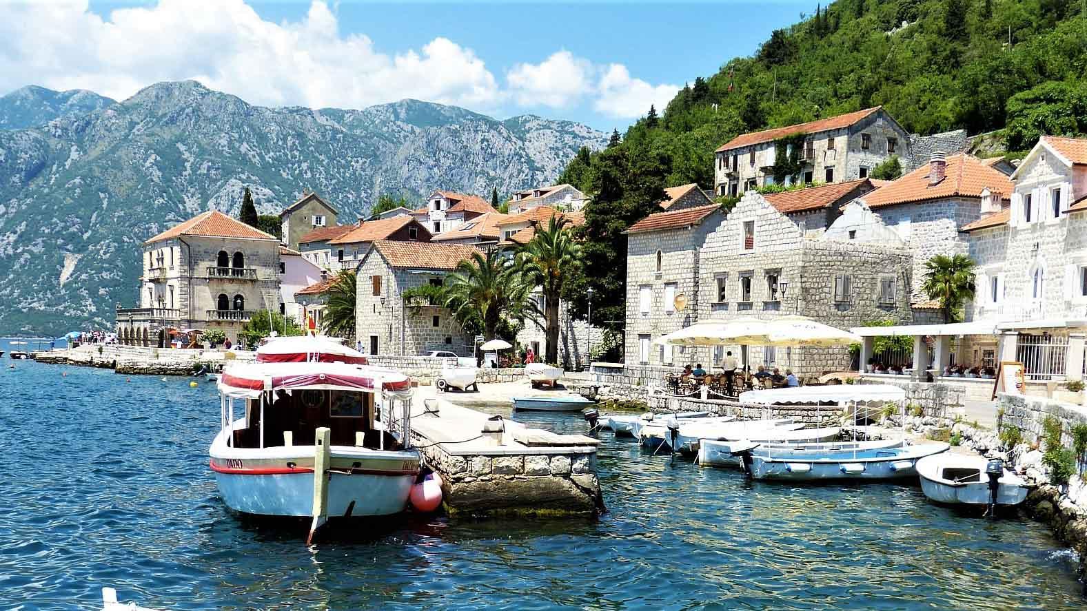 Яхтинг в Черногории. Пераст