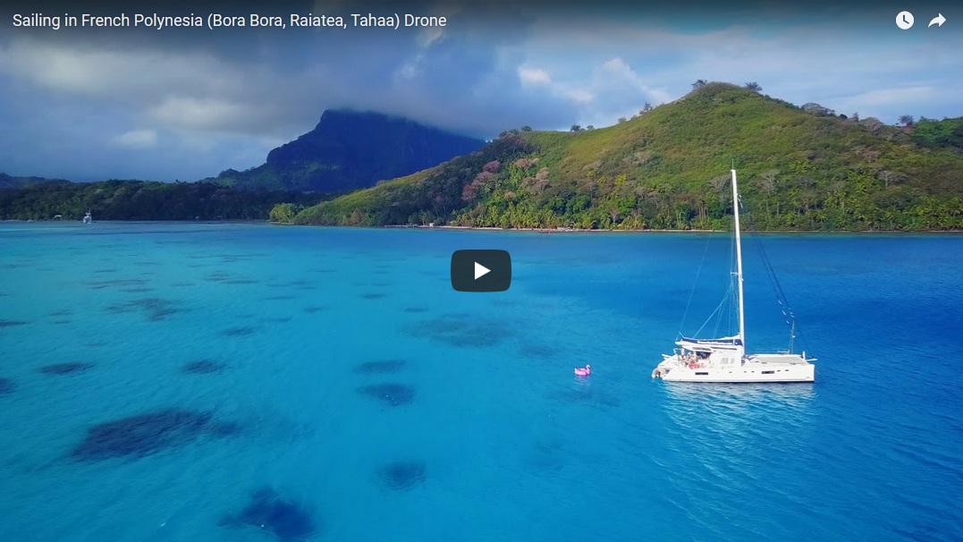 Яхтинг в Полинезии. Видео