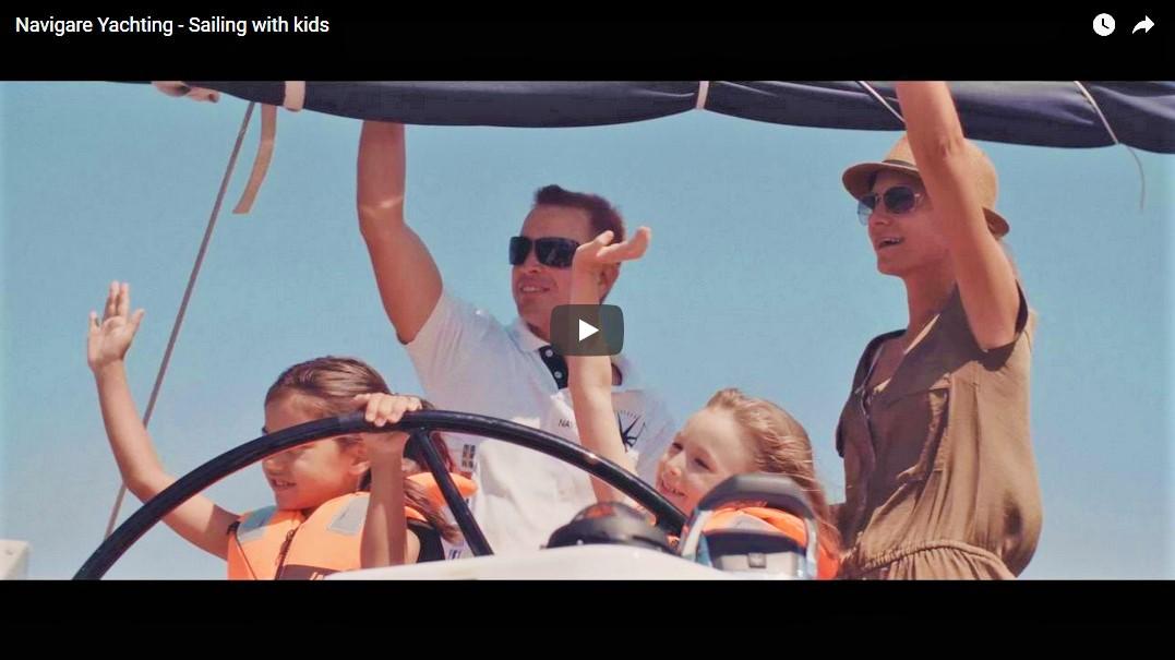 Видео «Яхтинг с детьми»