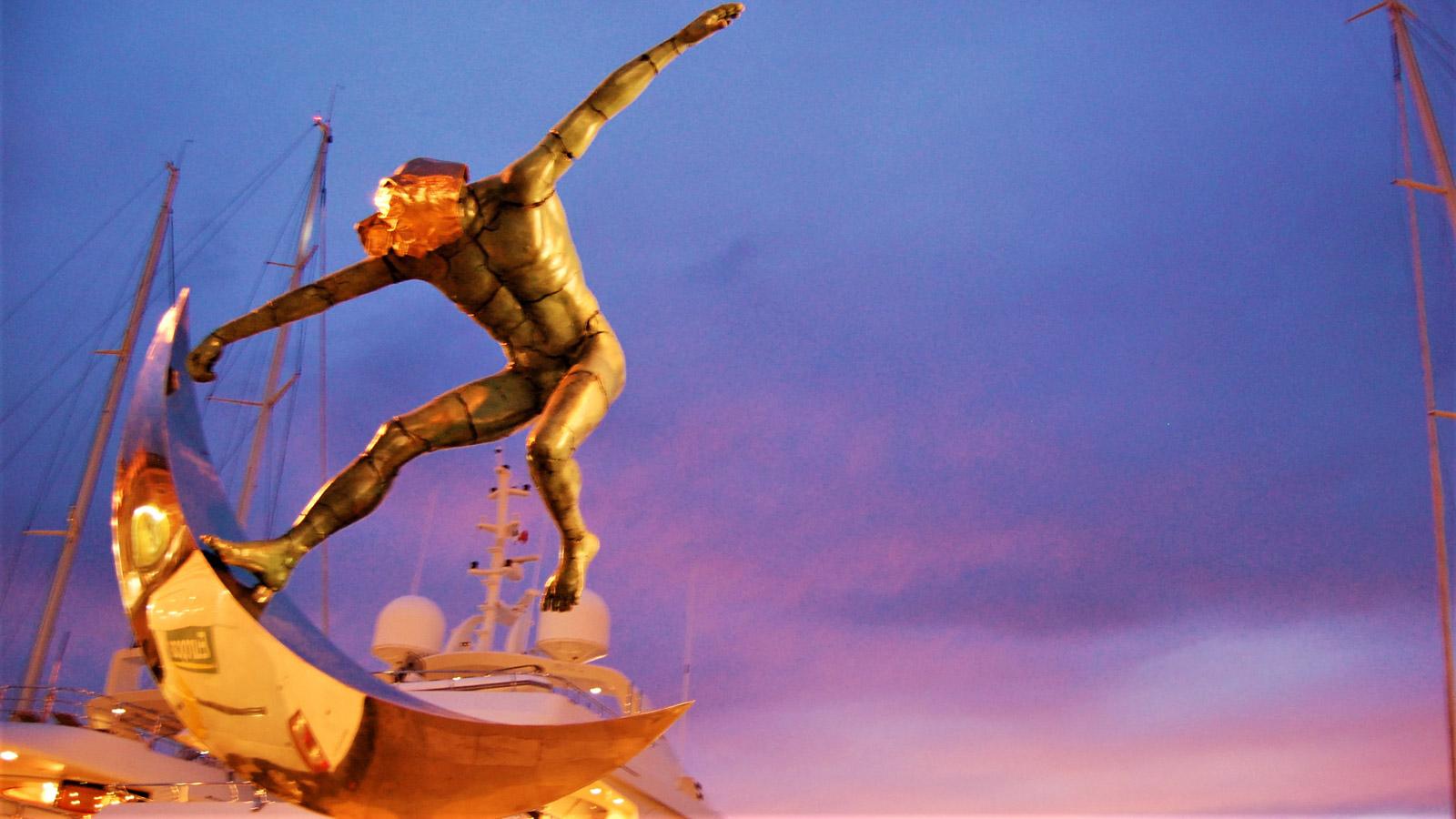 Скульптуры в Сен-Тропе
